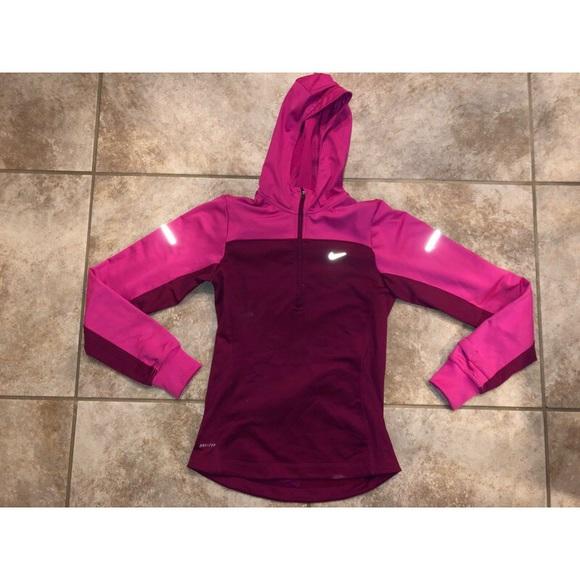 Nike Tops - Nike DriFit Athletic Half zip sweatshirt